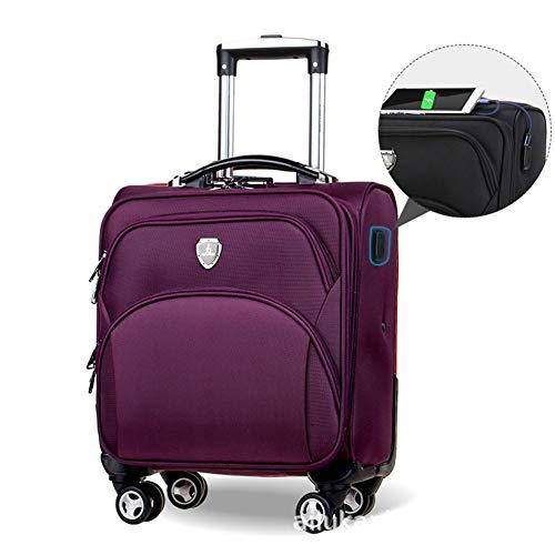 XDD Rollende Laptoptasche für Unisex-Laptoptasche auf Rädern mit 20 Zoll und 8 Rädern,C -