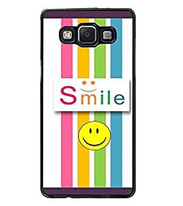 PrintDhaba Quote D-3811 Back Case Cover for SAMSUNG GALAXY A5 (Multi-Coloured)