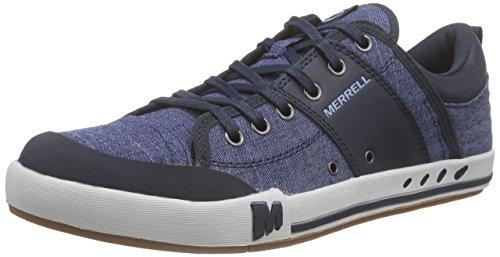 Merrell Rant Lace, Baskets Basses Homme Bleu (Navy)