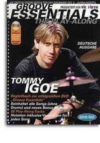 Tommy Igoe: Groove Essentials - The Play-Along (Deutsche Ausgabe). Für Schlagzeug (Hudson Elektronik)