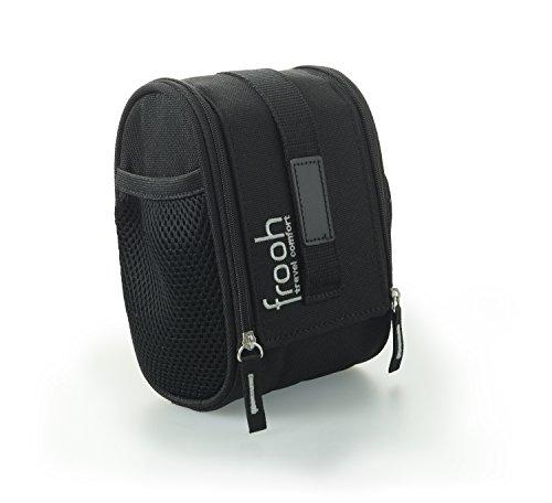 frooh® Toiletten Tasche S: Die kompakte Toilettentasche für feuchte Toilettentücher und Hygieneartikel, mit mobilem Toilettenpapierhalter