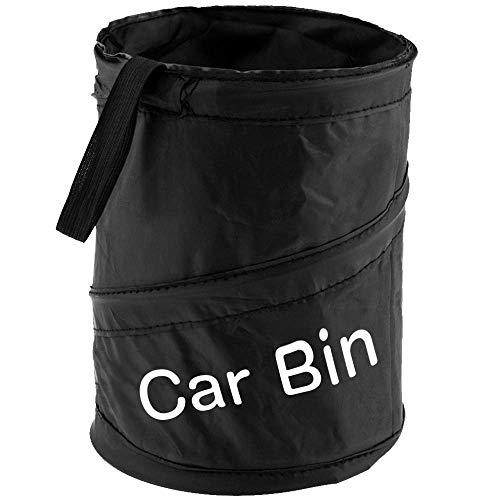 QIANGGAO Auto-Mülleimer-Mülleimer - Faltbarer und wasserfester Auto-Müllsack Camp für Müll und Abfälle Lagerung und Sammlung 5St -