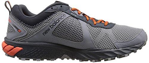 New Balance Herren Mt_wt610v5 Laufschuhe Grau (Grey/Orange)