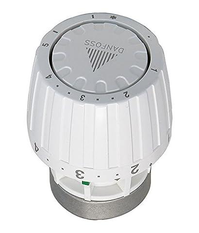Danfoss Service-Thermostatkopf RA/V alt/neu, 1 Stück, weiß, 27197 4
