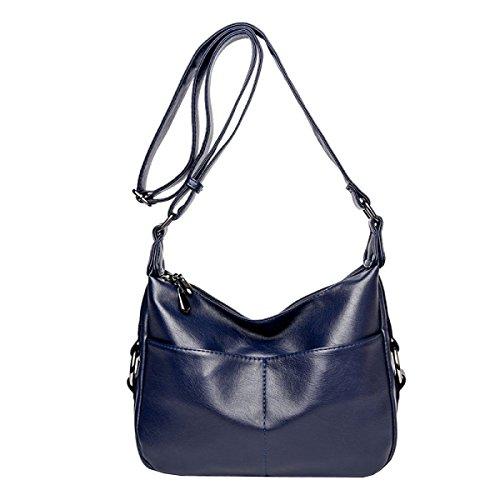 LAIDAYE Frauen Schulterdiagonalpaket Blue