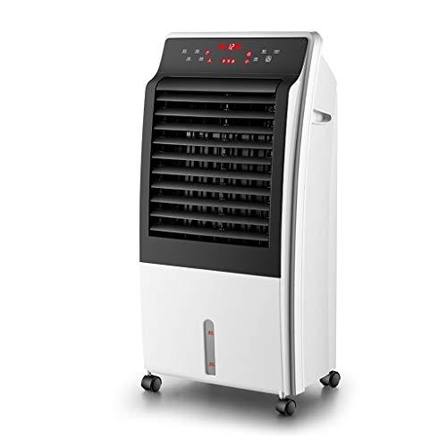 CYLQ Mobile Klimaanlage Mit Fernbedienung Tragbar Verdunstend Klimageräte, Mit Heizung Luftbefeuchter Luftreiniger 3 Geschwindigkeiten 12H Timer, Innenministerium Weiß (Color : White)