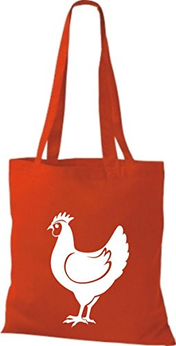 Shirtstown, Borsa tote donna Rosso