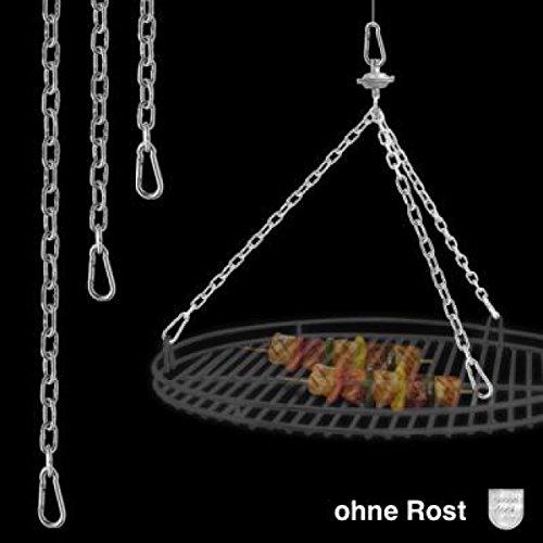 Schneider Kettenkit für Roste Ø 70 cm bis 80 cm Schwenkgrill Schwenker