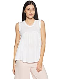 Symbol Amazon Brand Women's Plain Loose Fit Top