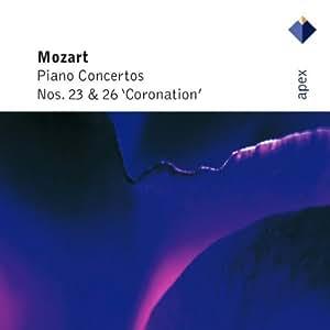"""Mozart : Concertos pour piano n° 23 et  n° 26 """"Coronation"""""""