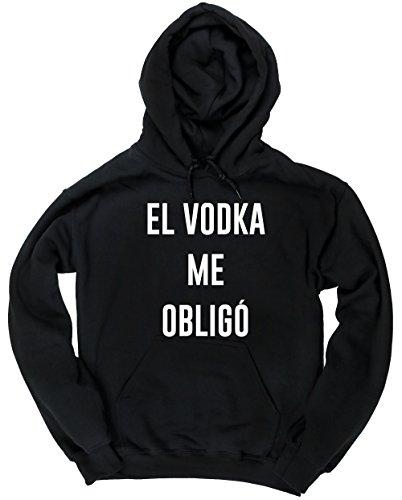 HippoWarehouse El Vodka Me Obligó jersey sudadera con capucha suéter derportiva unisex