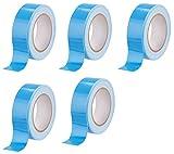 5 stück (1 m x 19 mm) Montage Montageband Doppelklebeband Doppelseitiges Klebeband