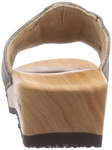 Woody  Anna, Claquettes femme Gris - Taupe