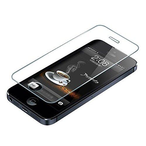 CAOLATOR Schutzfolie Für iPhone 5 / 5s / 5c, gehärtetes Glas HD freier Schirm-Schutz, Qualität Vervollkommnen Sie erstklassigen Beschützer für Apple iPhone (iPhone 5 / 5s / 5c)