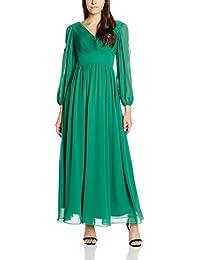 My Evening Dress Langärmlige Damen Kleider bodenlang Plissee Chiffonkleider Festkleider Abendkleider Festkleider Cocktailkleider Frauen