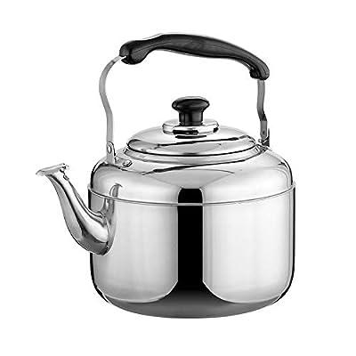 NZ-CJ Wasserkocher Acier Inoxydable 3L/4L/5L/6L/7L/10L Bouilloire Sifflet épaissie Cuisinière Domestique De Grande Capacité Bouilloire,StainlessSteel-3L