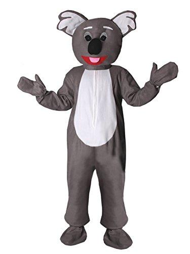 Koala Bär Eiheitsgrösse XXL Kostüm Fasching Karneval Maskottchen