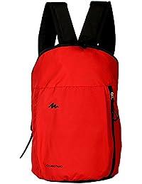 MultiZone Red Backpack 12 Liters Gym Outdoor Trekking Travel Backpacks Multipurpose Daypacks Adjustable Strap