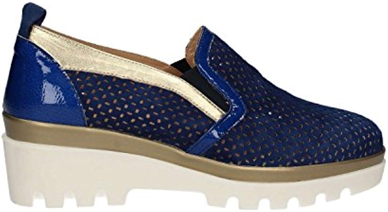 Grace Shoes J306 Mocasin Mujeres Azul 36