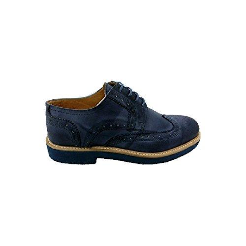 Scarpe Vintage uomo Exton made in italy primavera estate am90 Navy (46)