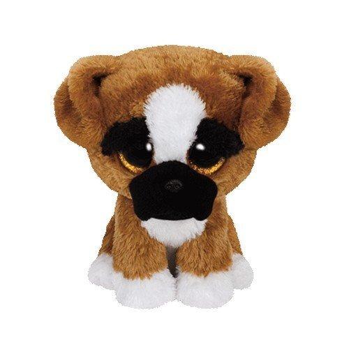 "Beanie Boo Dog - Brutus - Boxer - 24cm 9"""