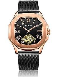 Xinmeitezhubao Reloj mecánico de los Hombres, a Prueba de Agua Reloj automático tourbillon, de Alta Gama de Acero Inoxidable del Reloj del…
