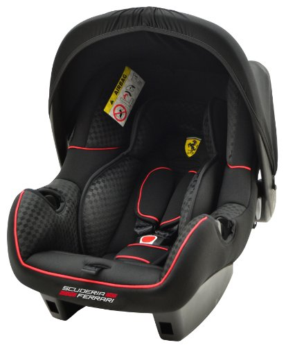 Ferrari 100-101-156 Babyschale Kinderautositz BeONE SP, Gran Tourismo, 0 - 13 kg, ECE Gruppe 0+, schwarz