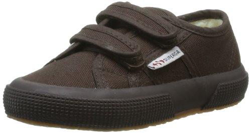 Superga 2750 Cobinvj, Unisex-Kinder Sneakers Braun (Full Dk Coffee)