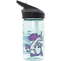 Katuki Saguyaki - Botella Infantil de Tritan 0,45L y Tapón Jannu. Libre de BPA