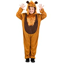 Atosa - Disfraz de león para niño, talla 3 - 4 años (73924)