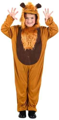 Imagen de atosa  disfraz de león para niño, talla 3  4 años 73924