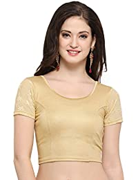 f8a7834bf29e6d Amazon.in  Golds - Blouses   Ethnic Wear  Clothing   Accessories