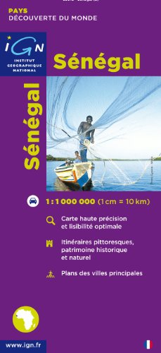 Carte routire : Sngal