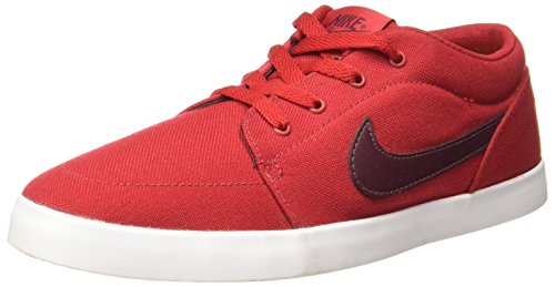Nike Men's VOLEIO CNVS Gymred/Ngtmrn Sneakers-6 UK/India (40 EU) (706555-603)