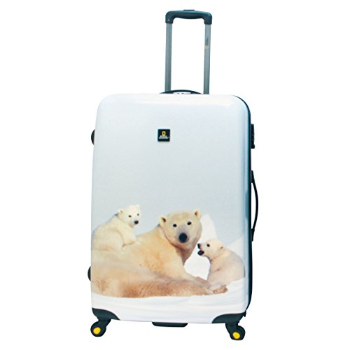 National Geographic Nature of Love Polar Bear Valise 4 roulettes 79 cm polar bear