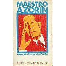 MAESTRO AZORÍN. Premio Doncel de Biografía.