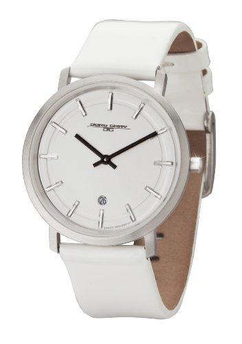 Jorg Gray - JG2700-12 - Montre Femme - Quartz Analogique - Bracelet Cuir Blanc