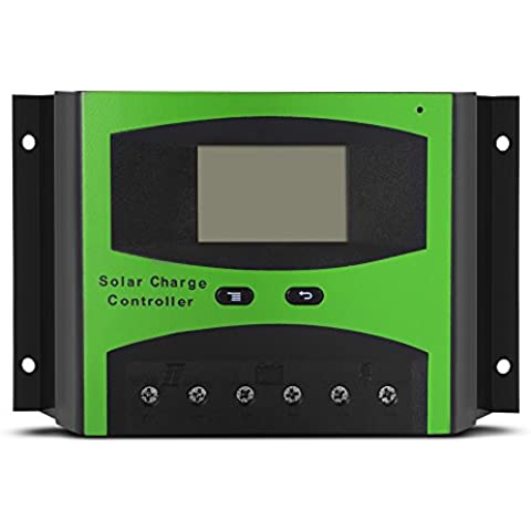 XCSOURCE 50A PWM energia solare del regolatore con schermo LCD