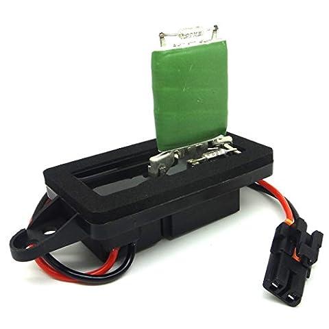 Ru571 Hvac Blower Motor Resistor For Chevy Gmc Cadillac W/O Auto Temp Control Chevrolet Suburban 1500 2002 03 04 05 06 2007 Ru-571, 4P1449, Ja1582, Bmr14, 973009,1581086, Br474, Ru1264, 973405, 5369685,15305077, 89018308, 89018596, 89019088