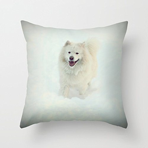 beautifulseason Christmas Pillowcase 18 X 18 Inches/45 by 45 cm(Double Sides) Nice Choice for Pub Boy Friend Car Outdoor Indoor Drawing Room Dogs -