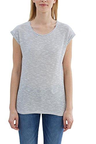 ESPRIT, T-Shirt Donna Multicolore (Dark Blue 4)