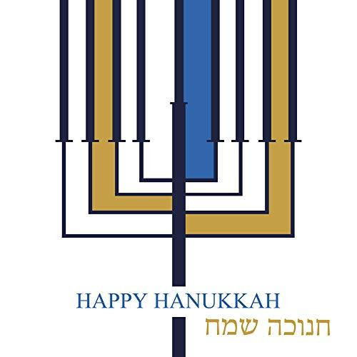 20 Servietten Hanukkah/Chanukka / Fest/Feier / Judentum 33x33cm