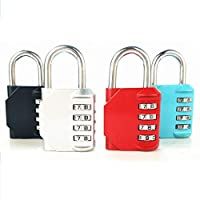 Aishah Digital Combination Locks Luggage Padlock Resettable Security Number Code Lock for Travel Suitcases Luggage