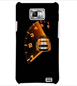 PrintDhaba Car D-4746 Back Case Cover for SAMSUNG GALAXY S2 (Multi-Coloured)