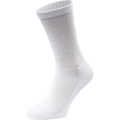 Fruit Of The Loom Mens Everyday Cushion Sole Natural Fibre Crew Socks