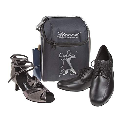 Diamant Diamant – Schuhtasche für 2 Paar Tanzschuhe HW03984, Schuhbeutel, Blau (Blau) - 2