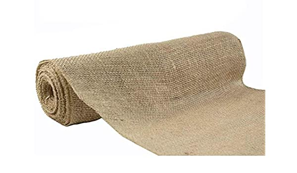 "10 METRES wide 137 cm 54/"" HESSIAN 100/% JUTE 10 oz Fabric Material"