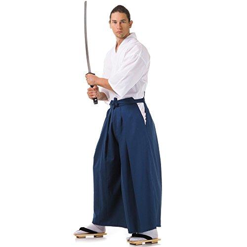 Kendo Gi & Hakama Laido Outfit Baumwolle One Size M L XL Blau & (Männer Japanische Kostüme)