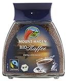 Mount Hagen Bio Organic Löslicher Kaffee entkoffeiniert 100 gr