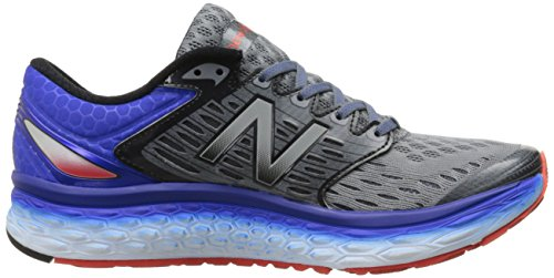 New Balance Men's M1080v6 running Shoe Silver/Blue Silver/Blue